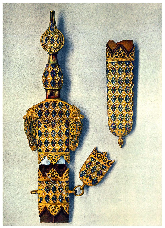 Schwert, Granada, Mauren, Emirat,