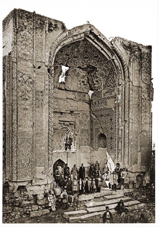 Tabriz, Blaue Moschee, Iran, Persien, Baukunst, Denkmal, Portal,