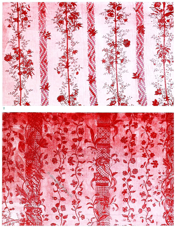 Textildesign, Rokoko, Toile de Jouy, Stoffe, Oberkamp