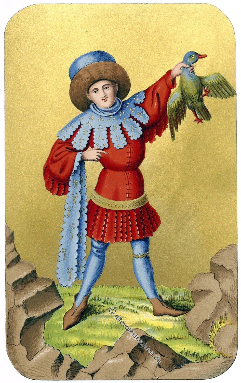 Zaddeltracht, Gewandung, Mittelalter, 15. Jh. Mde, Kostüm,