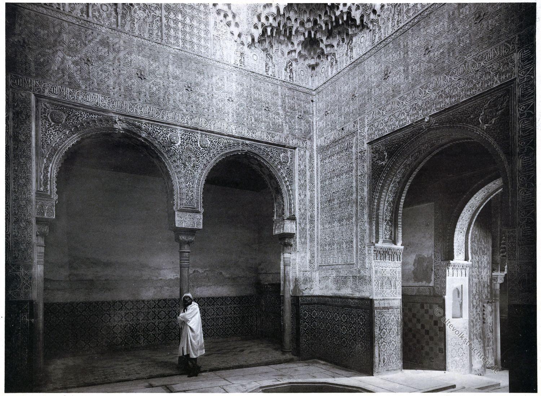 Abencerrages, Alhambra, Granada, Architektur, Baukunst, Maurischer Stil