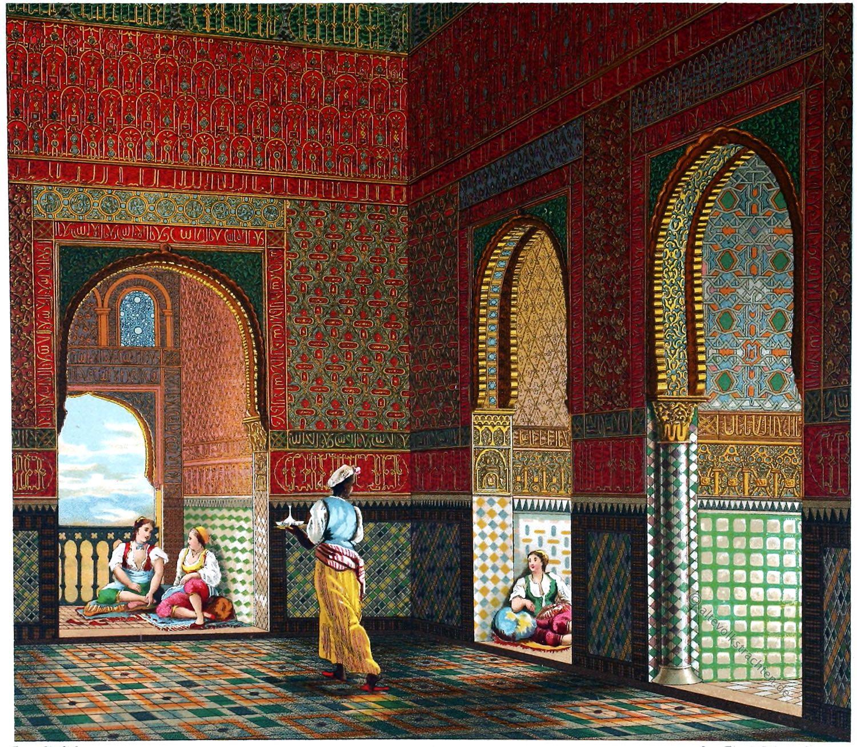 Alhambra, Granada, Spanien, Architektur, Baukunst, Maurischer Stil