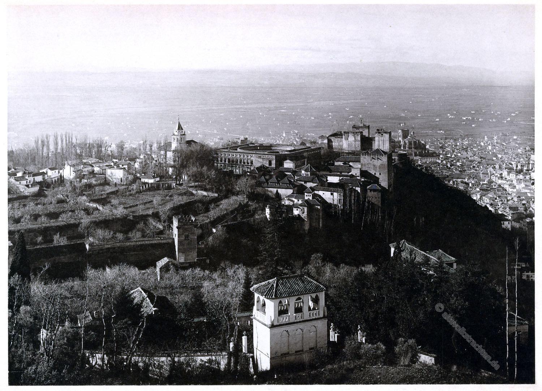 Alhambra, Silla del Moro, Granada, Architektur, Baukunst, Maurischer Stil