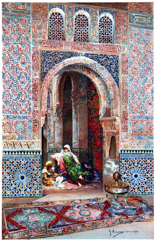 Alhambra, Torre della Cautiva, Granada, Architektur, Baukunst, Maurischer Stil