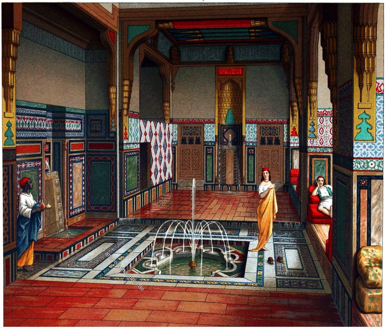 Kairo, Sommersaal, Islam, Interieur