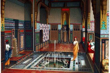 Kairo, Sommersaal, Islam, Interieur, Architektur