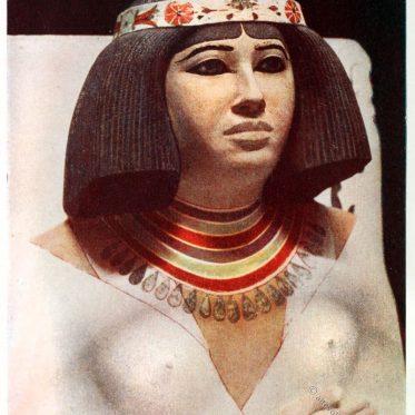 Ägyptische Prinzessin Nefertiabet. Die Schöne des Ostens.