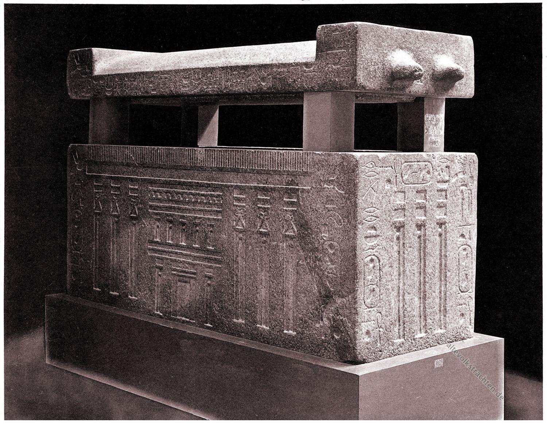 Sarkophag, Ägypten, Altes Königreich, Khufu-ankh