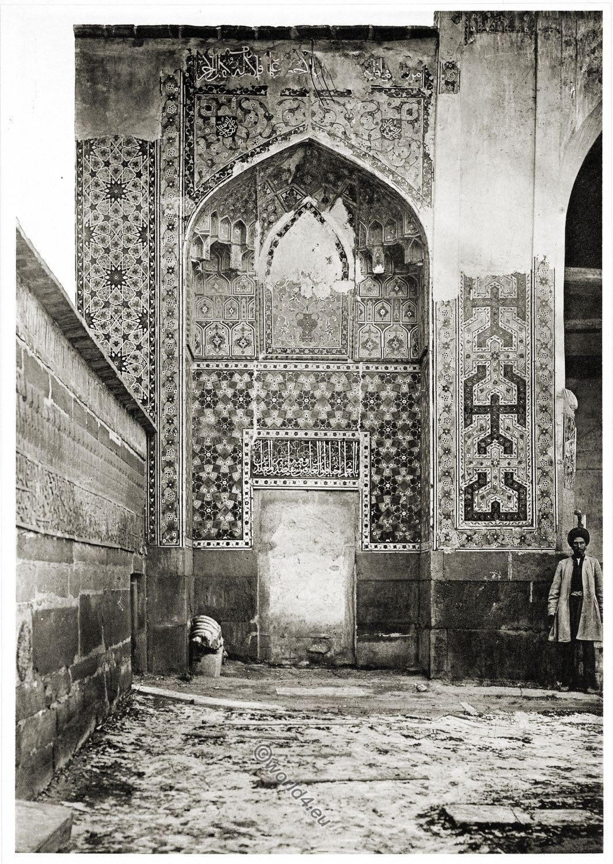 Moschee, Ardabil, Scheich, Safi ad-Din, Baukunst, Persien, Iran, Dekoration