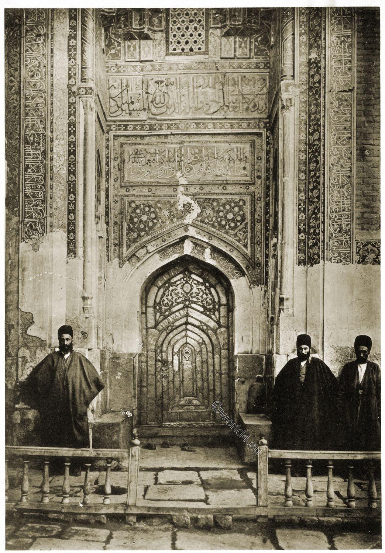 Moschee, Ardabil, Scheich, Safi ad-Din, Baukunst, Persien, Gebetsraum, Eingang,