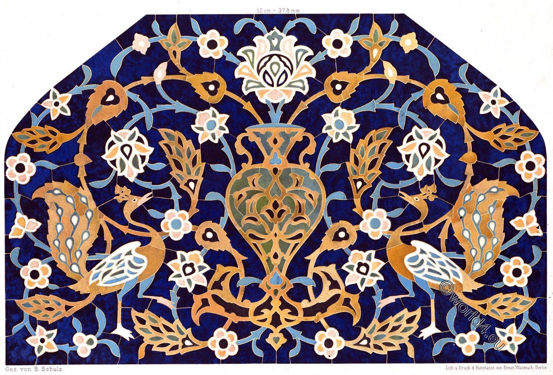 Moschee, Ardabil, Scheich, Safi ad-Din, Baukunst, Persien, Fayencedekoration