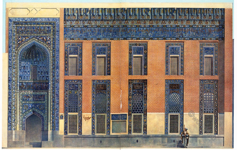 Moschee, Ardabil, Scheich, Safi ad-Din, Baukunst, Persien, Gebetsraum, Fassade