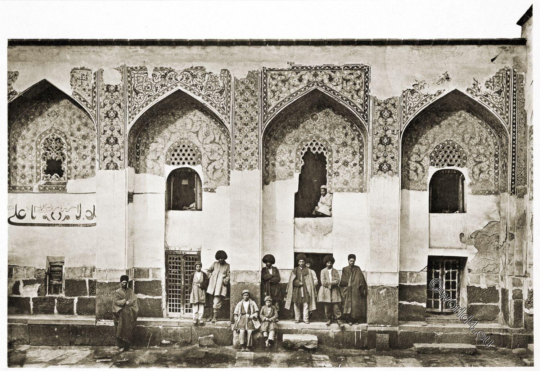 Mausoleum, Grabbau, Moschee, Ardabil, Scheich, Safi ad-Din, Baukunst, Persien, Iran,
