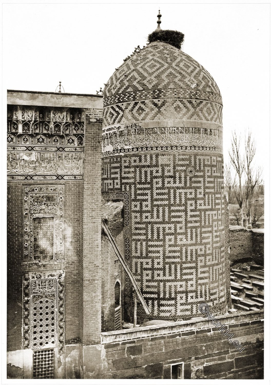 Moschee, Ardabil, Mausoleum, Sufi, Heiliger, Scheich, Safi ad-Din, Baukunst, Persien, Iran,