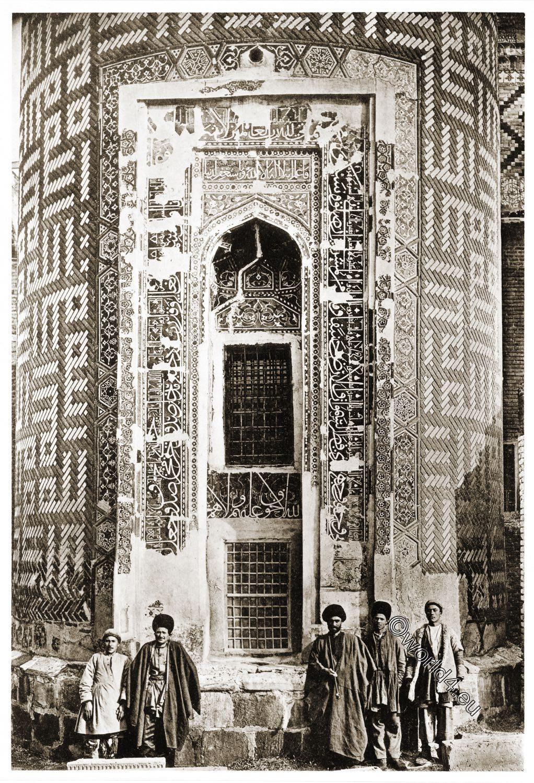 Moschee, Ardabil, Mausoleum, Scheich, Safi ad-Din, Baukunst, Persien, Iran,