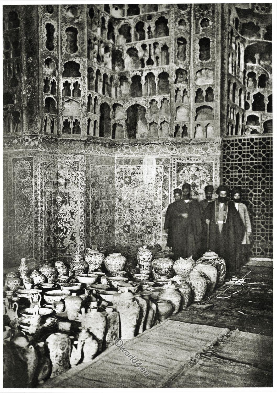 Moschee, Ardabil, Porzellanhaus, Tschini-Hane, Scheich, Safi ad-Din, Baukunst, Persien, Iran,