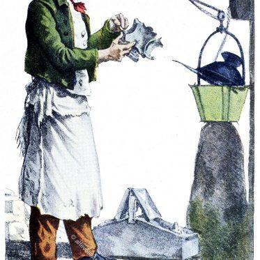 Pariser Laternenanzünder um 1823.