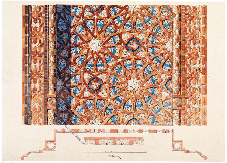 Aserbaidschan, Nachitschewan, Mosaik, Mumine Chatun