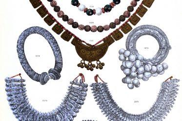 Rajasthan, Schmuck, Jaipur, Museum, Fußkette, Halskette, Rudraksh,