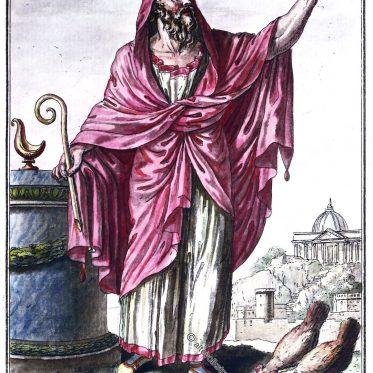 Die Auguren. Römischer Priesterorden des antiken Roms.