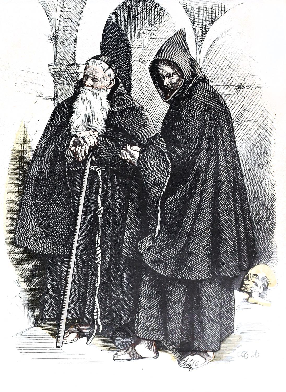 Münchener Bilderbogen, Kapuziner, Kostüm, Habit, Mönche, Tracht