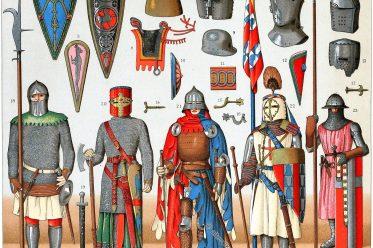 Rüstung, Mittelalter, Ritter, Heraldik , Waffen, Auguste Racinet