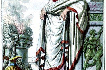 PONTIFE, ROMAIN, Pontifex, Maximus, Hohepriester, Altertum, römisch, rom,