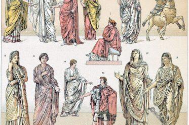 Toga, Togatus, Tracht, Römer, Rom, Kostümgeschichte