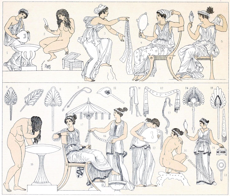 Hellenen, Antike, Körperpflege, Griechen, Griechenland,