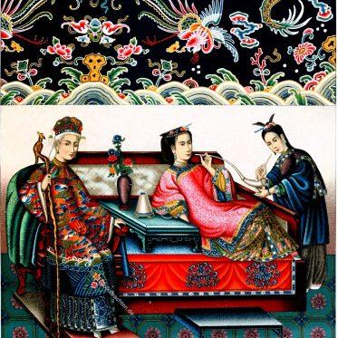 China, Kaiserin, Konkubinen, Kleidung, Kostüme, Kultur