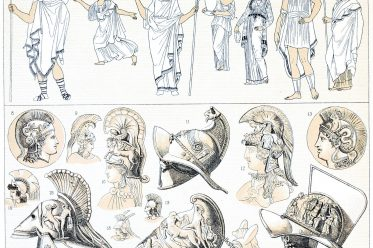 Griechenland, Chiton, Chlamys, Petasos, Himation, Antike, Bekleidung,