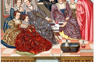 Italien, Venedig, Mode, Renaissance, Adel, Auguste Racinet, Paolo Veronese,