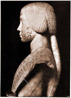 Beatrice d'Este, Sforza, Louvre, sculpture, Renaissance,