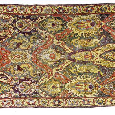 Armenischer Drachenteppich. Südkaukasus 16. bis 17. Jahrhundert.
