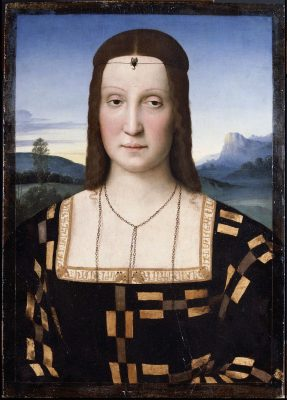 Elisabetta, Gonzaga, Montefeltro, Renaissance, Porträt, Italien