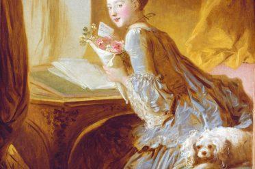 Liebesbrief, Jean-Honoré Fragonard, Rokoko, Mode, Caraco, Casaquin,