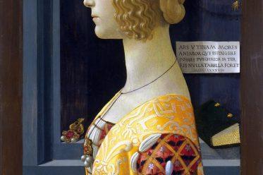 Renaissance, Italien, Portrait, Giovanna degli Albizzi Tornabuoni, Domenico Ghirlandaio