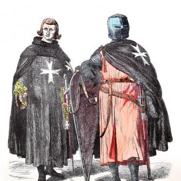 Die Hospitaliter. Johanniter und Johanniterinnen vom Malteserorden.