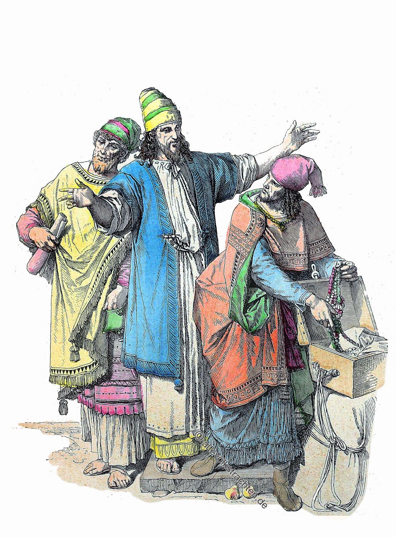Kleidung, Juden, Antike, Hebräer, Münchener Bilderbogen