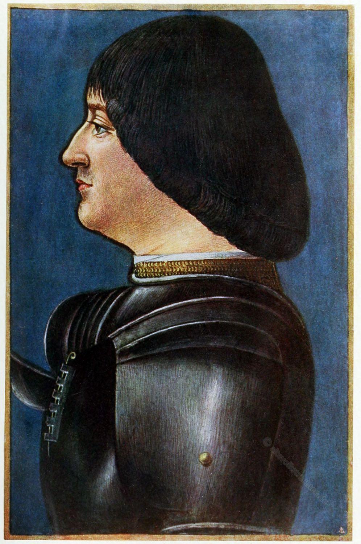 Ludovico, Sforza, Porträt, Mailand, Renaissance,