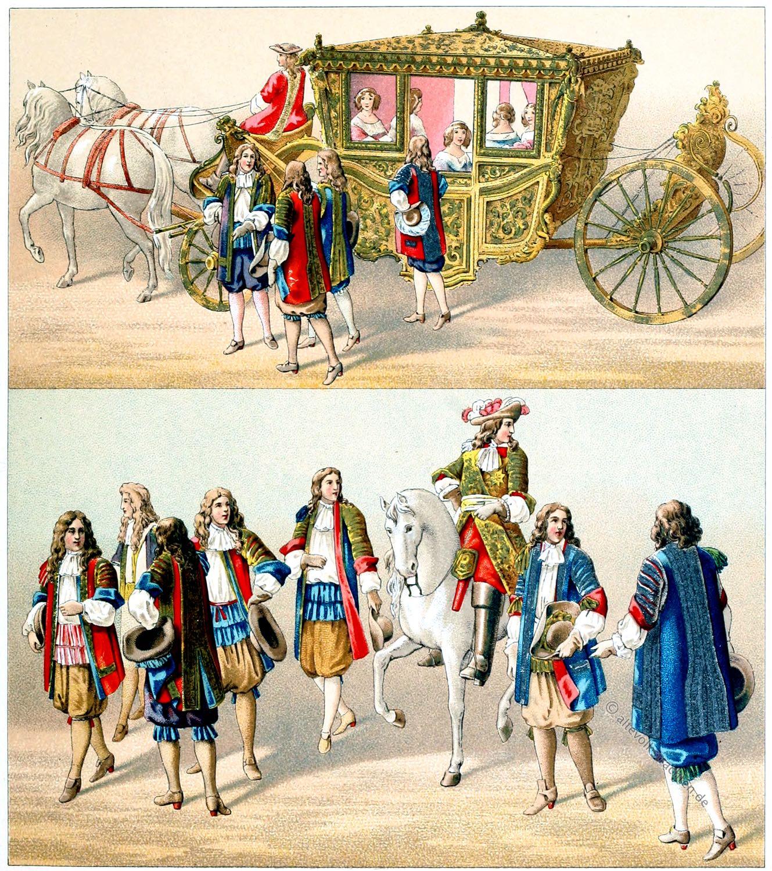 Ludwig XIV, Arras, Staatskarosse, Karosse, Barock, Frankreich, Kleidung, Kostüme