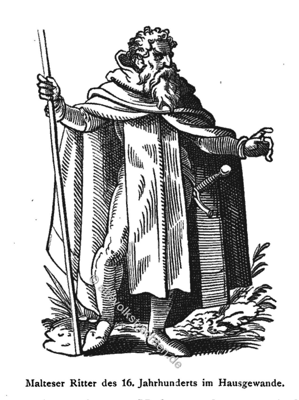 Malteser, Ritter, Malteserorden, Johanniter, Ritterorden, Kreuzzug, Bekleidung, Habit, Kostüm, Mittelalter