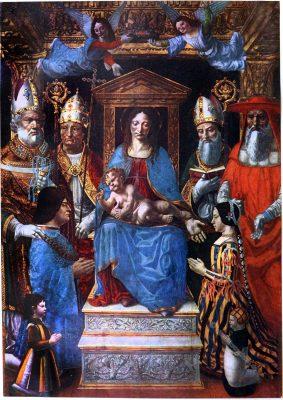 Ludovico Sforza, Beatrice d'Este, Mailand, Renaissance,