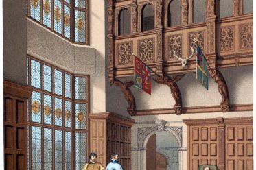 Hatfield-house, England, Einrichtung, Schloss,