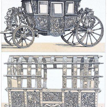 Transportwagen, Kutschen und Karossen des 16. und 17. Jhs.