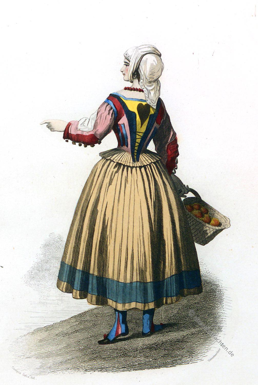 Ploaghe, costume, donna, Italia, Sardegna