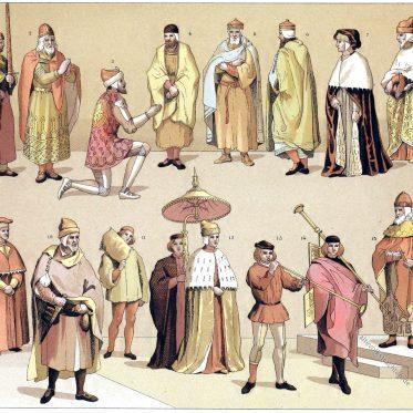 Die Dogen von Venedig und ihre Beamten vom 9. bis 16. Jh.