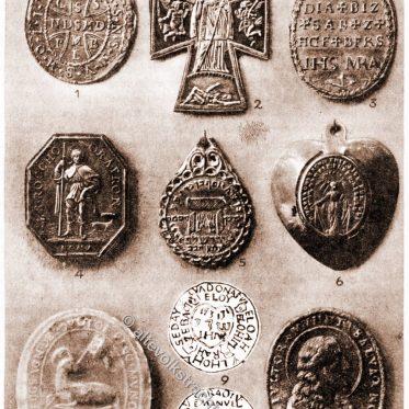 Agnus Dei. Amulette und Talismane. Das Rahel-Grab. Exorzisten-Medaille.