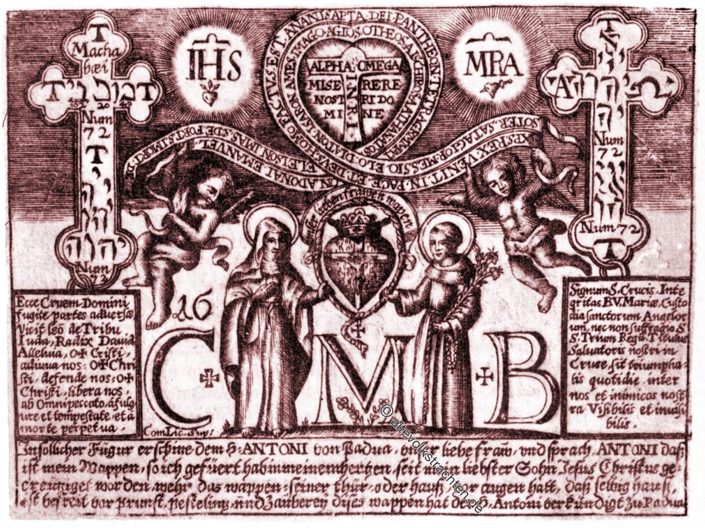 Antonius, Segen, Dreikönigssegen, Kabbala, Brauchtum, Österreich,