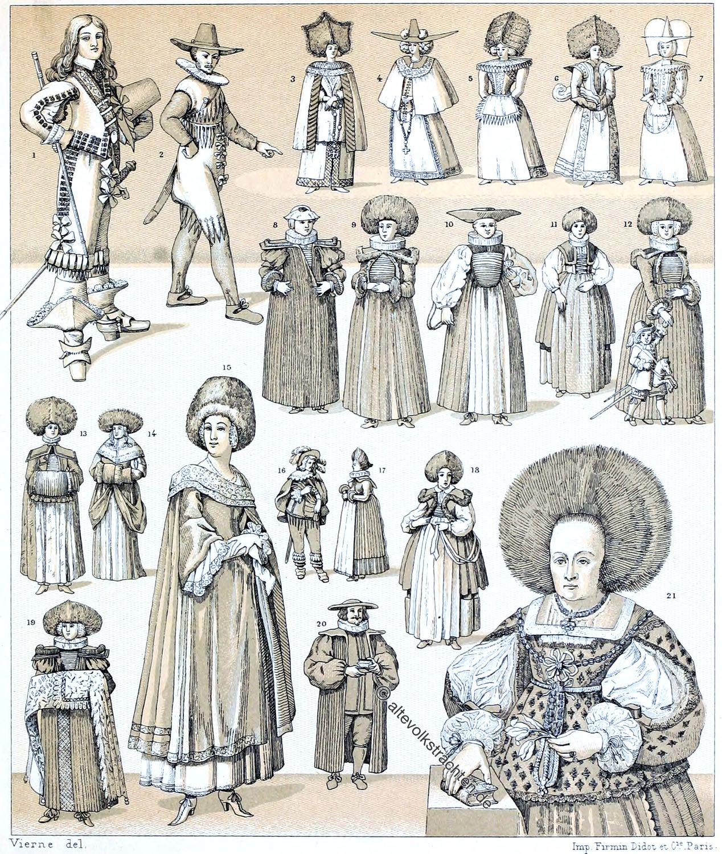 Deutschland, Mode, Kleidung, Kleiderordnung, Mode, Barock, Stände,